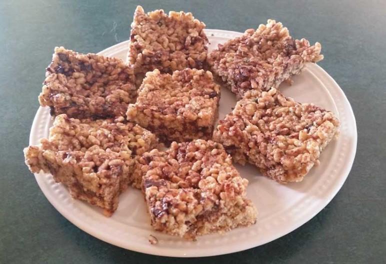 Gluten Free Crispy Squares