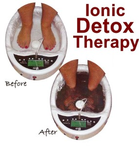 Ionic Detox Therapy Before After